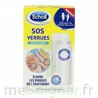 Scholl SOS Verrues traitement pieds et mains à ALBI