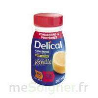 DELICAL BOISSON HP HC CONCENTREE Nutriment vanille 4Bouteilles/200ml à ALBI