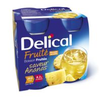 DELICAL BOISSON FRUITEE Nutriment ananas 4Bouteilles/200ml à ALBI