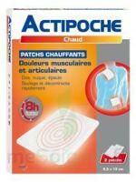 Actipoche Patch chauffant douleurs musculaires B/2 à ALBI