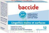 Baccide Lingette désinfectante mains & surface 12 Pochettes à ALBI