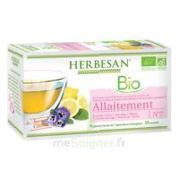 Herbesan Infusion Bio Tisane allaitement 20 Sachets à ALBI