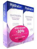 Hydralin Quotidien Gel lavant usage intime 2*200ml à ALBI