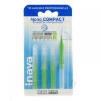 Inava Mono Compact Brossette Extra-large Vert Blister/4 à ALBI