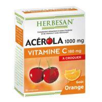 Herbesan Acérola 1000 Comprimés à croquer orange B/30 à ALBI